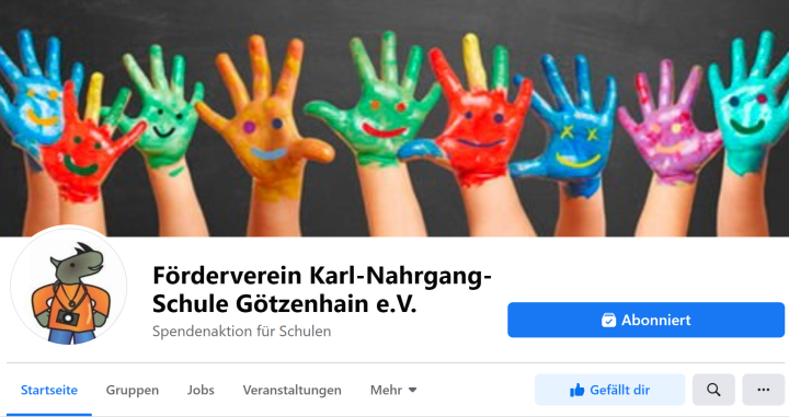 Neuer Facebook-Auftritt